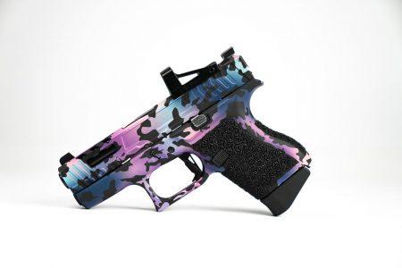 Custom Glock43 cerakoted with RMSc
