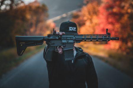 Custom AR15 gun